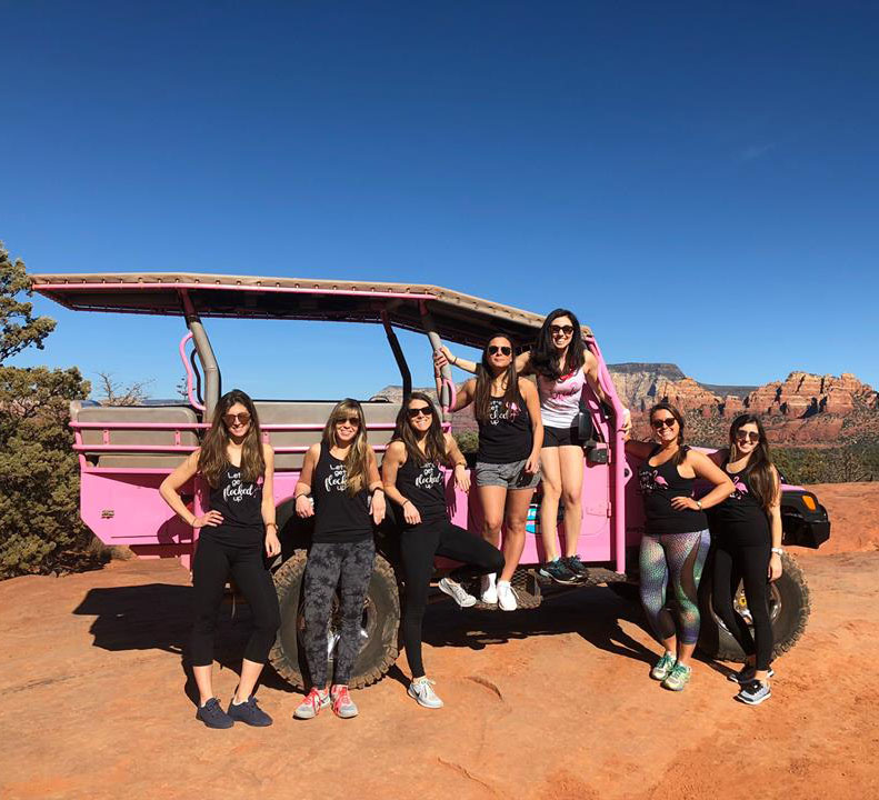 Grand Canyon Pink Jeep Tours   Road Trip Extraordinaire