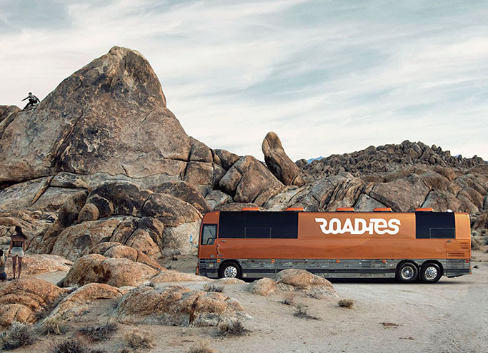 Roadies.travel like a rock star