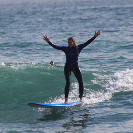 San Diego Excursions - Surf Lessons from San Diego Surf School