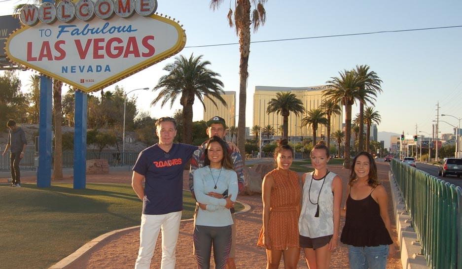 Las Vegas on the Inaugural Roadies Tour