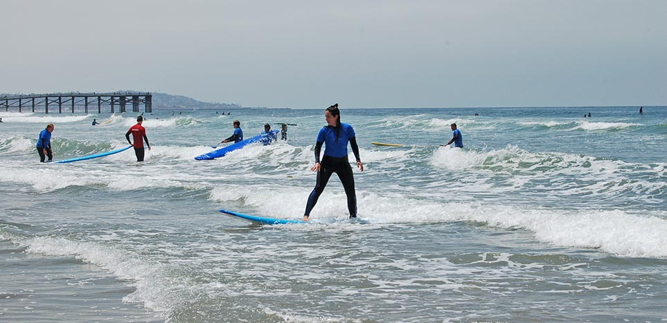 Surf's Up on the Inaugural Roadies Tour